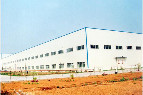 北京汇源集团肥城有限公司生产车间钢结构工程—鲁安杯