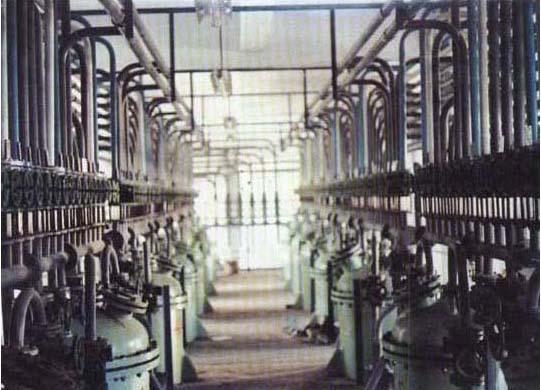山东烟台第二制药厂精炼车间设备安装工程