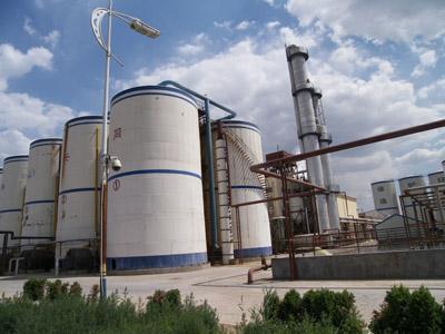 山東同興生物科技有限公司厭氧罐安裝工程